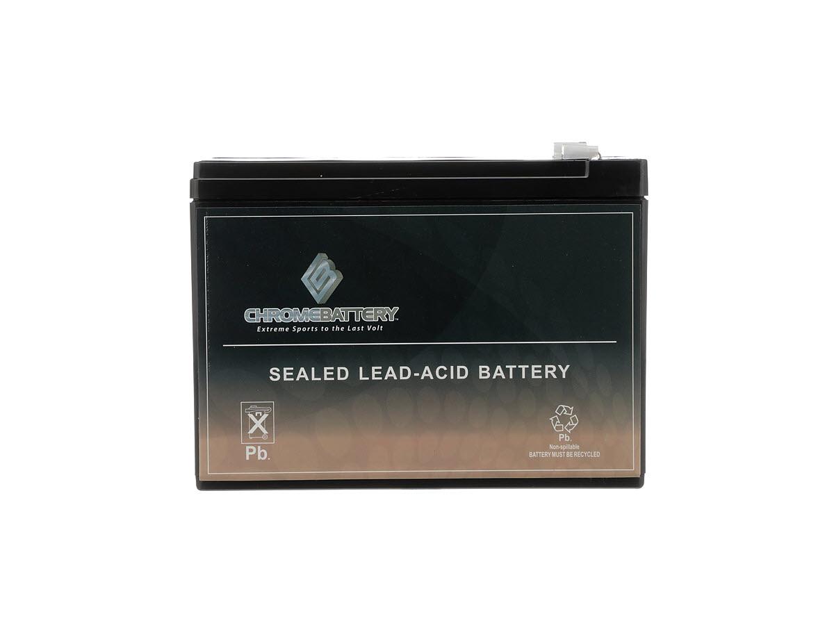 12V 10AH SLA Battery for Electric Scooter Schwinn S180 / Mongoose (2 Pack)