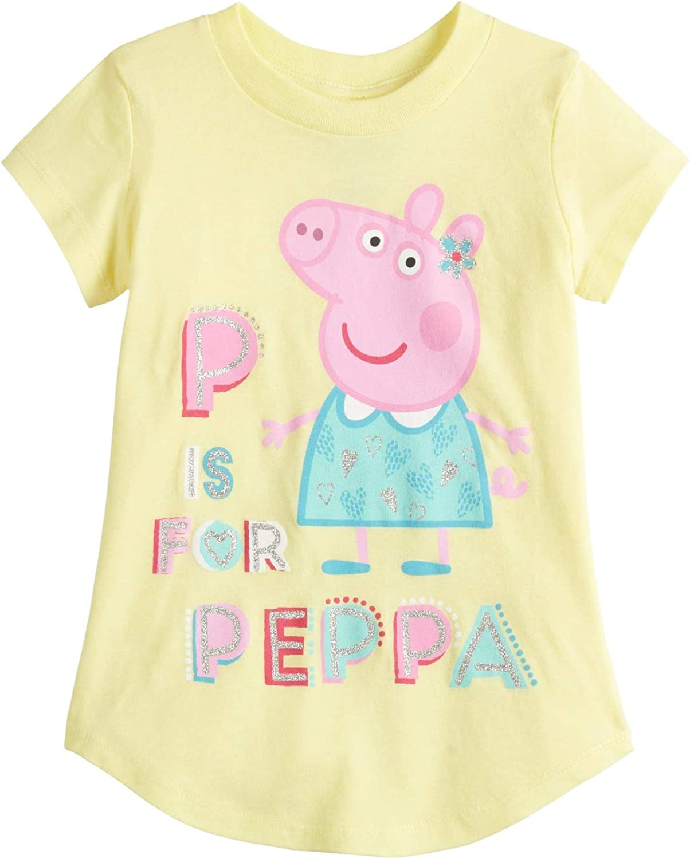 Jumping Beans Girls 4-12 Peppa Pig Dance Graphic Tee