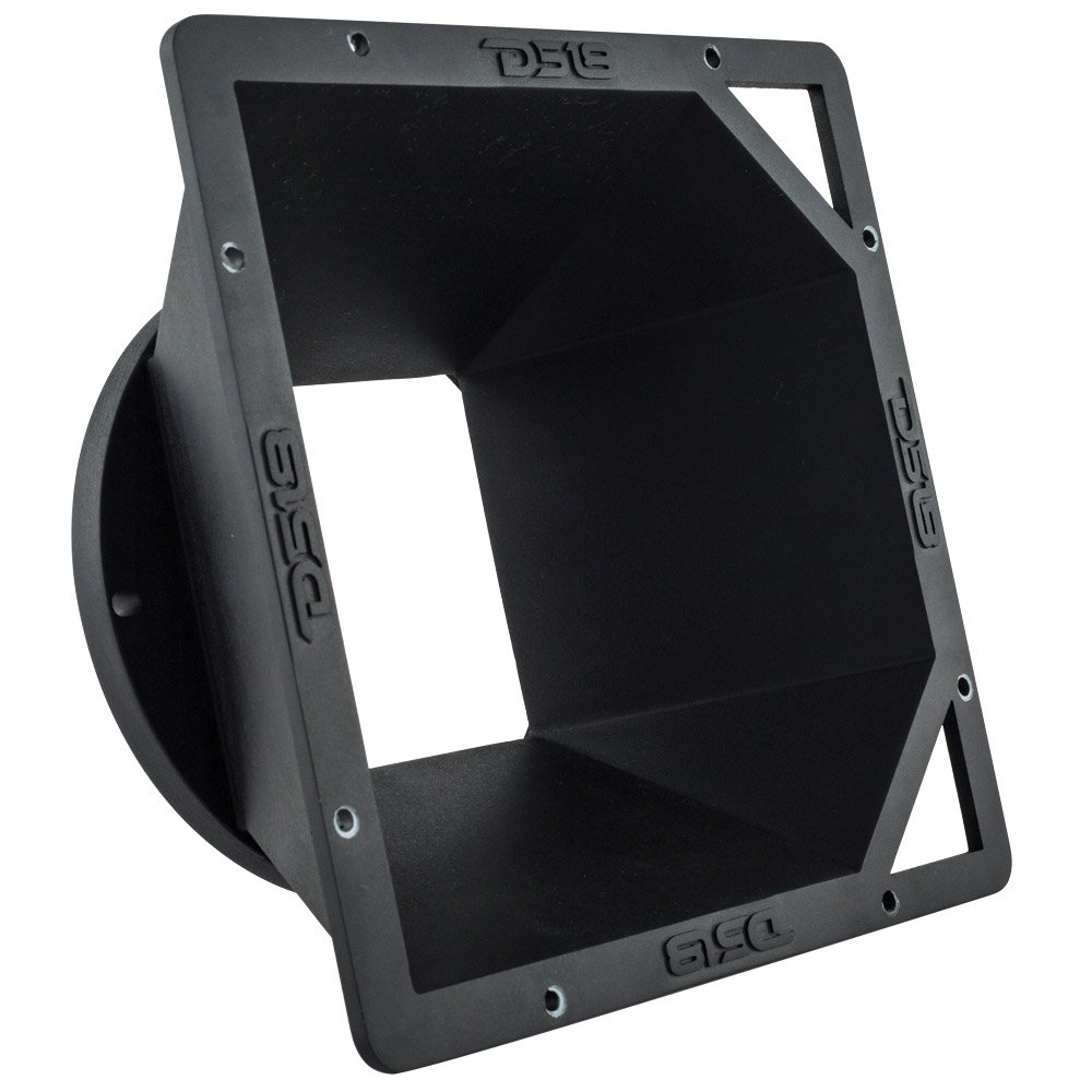 DS18 PRO-SDF6.5 Diffuser Designed to fit Most Midrange Speakers to Project The Sound with a Higher Pitch Without Affecting The Sound Quality and improving dBs, 6.5''
