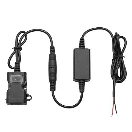 Adaptador de Cargador USB Doble a Prueba de Agua de la Motocicleta ...
