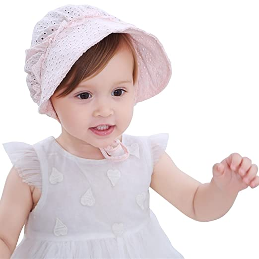 1d31ccdf Baby Girls Sun Hat Summer Baby Hats Hollow Sun Protection Caps Floppy Beach  Hat Vacation Caps
