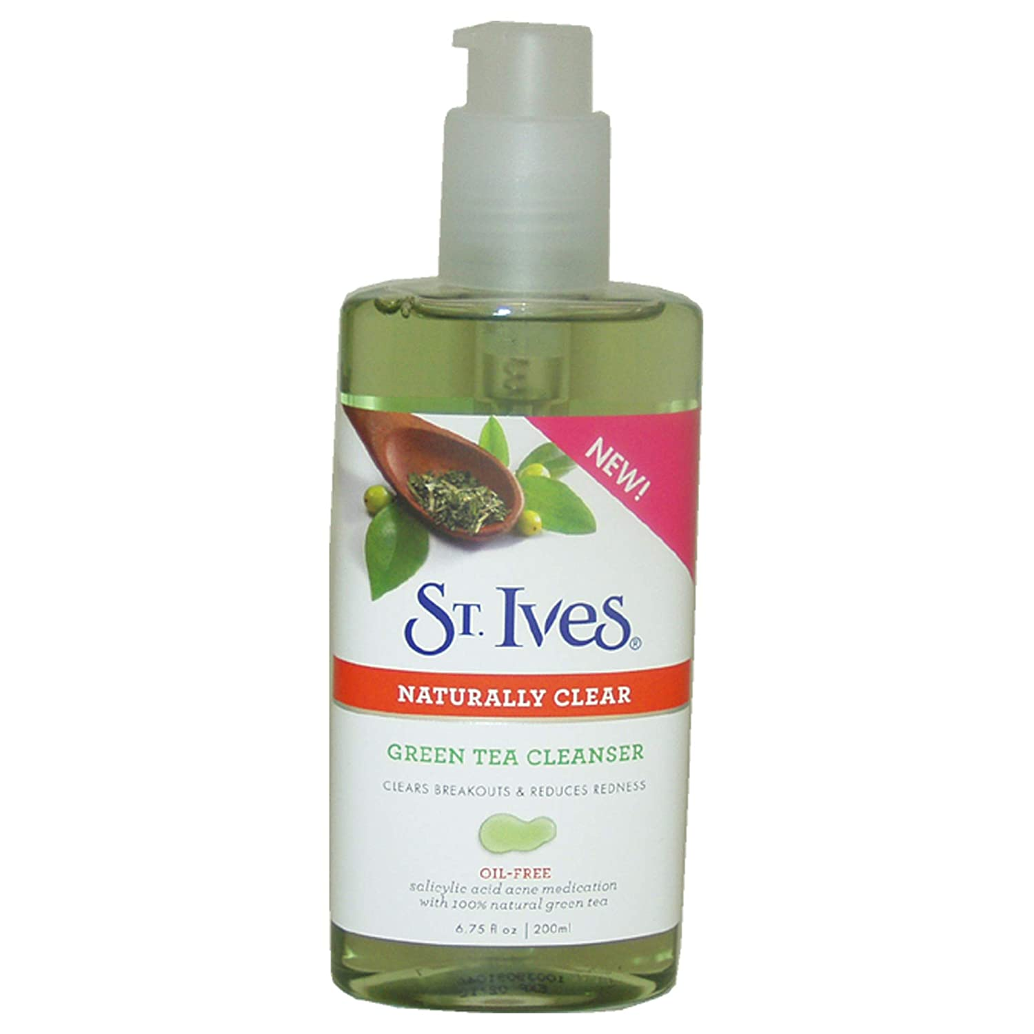Buy St Ives Naturally Clear Green Tea Cleanser For Unisex By Blemish Control Apricot Scrub 283gr Stives 675 Ounce Online At Low Prices In India