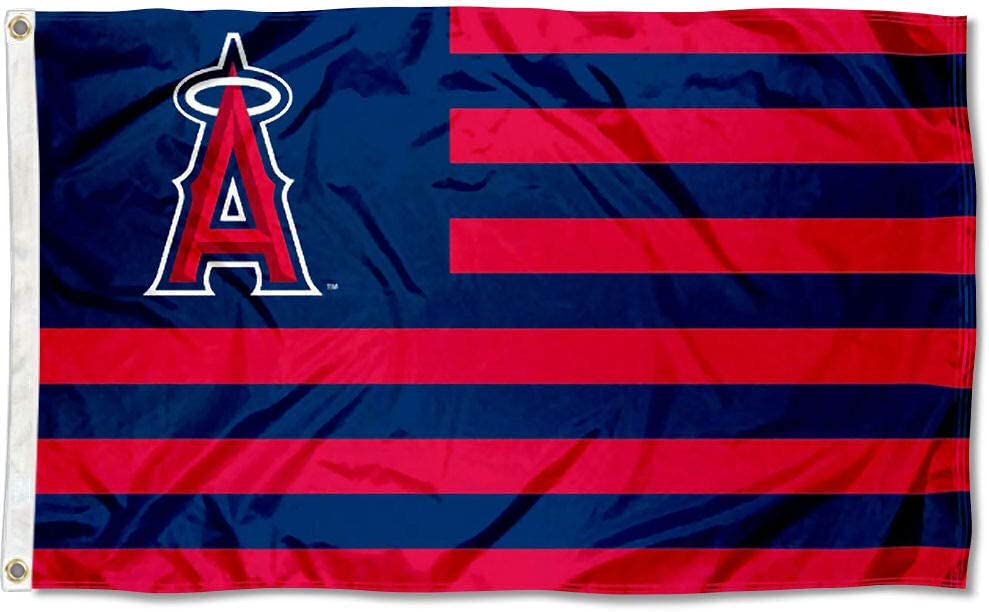 WinCraft Los Angeles Angels Stars and Stripes Nation 3x5 Flag