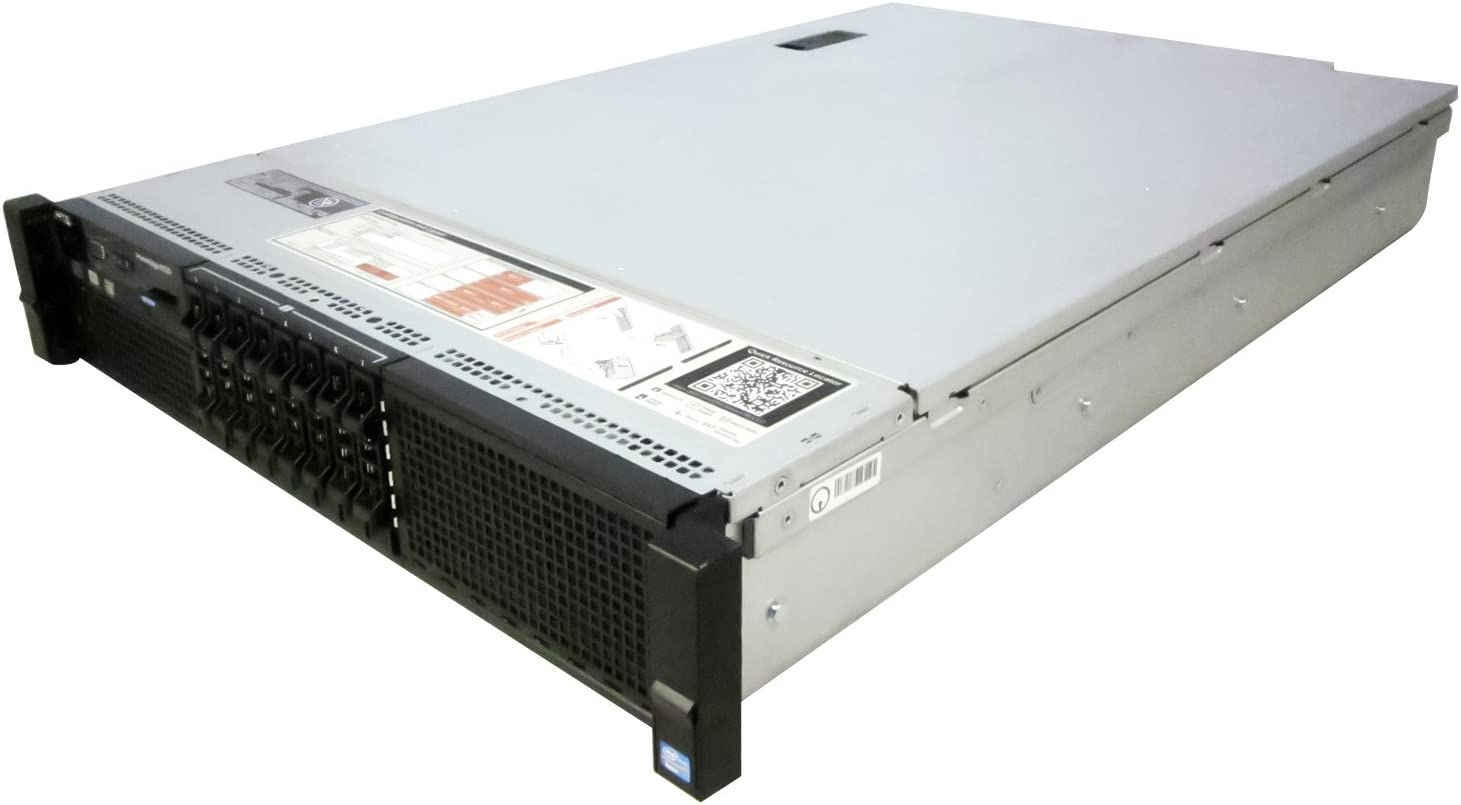 Dell PowerEdge R720 Server 2X E5-2670 2.60Ghz 16-Core 192GB 8X 1TB H710 Rails (Renewed)