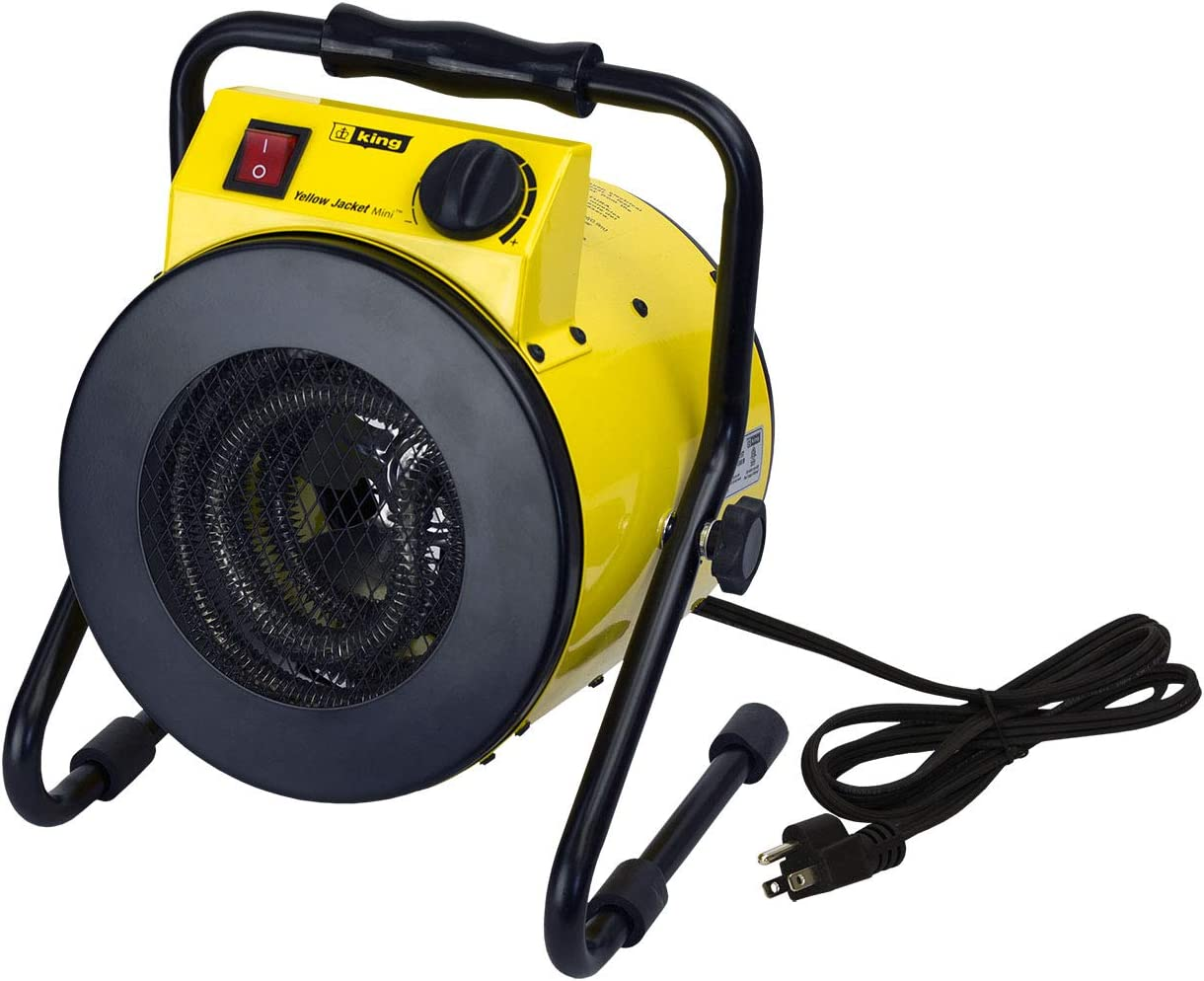 KING Portable Shop Heater w/Thermostat