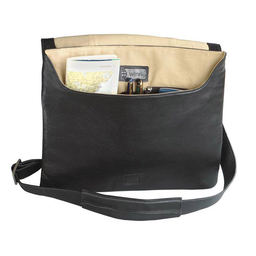 dbc342d39d Slim Messenger Bag Leather