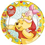 Disney 23cm Winnie The Pooh Party Plates