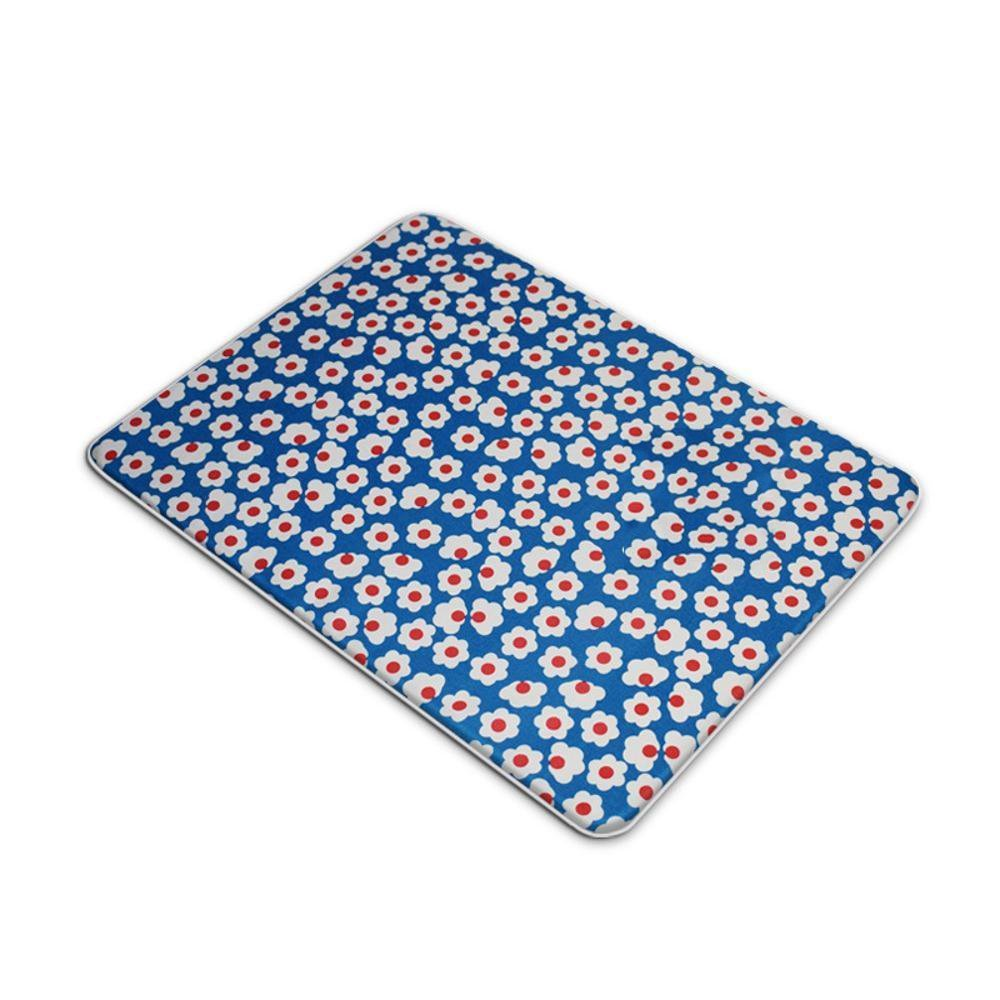 A S A S WUTOLUO Pet Bolster Dog Bed Comfort Pet mat can be washed and washed blankets board bite cat mat not sticky hair cool nest mat (color   A, Size   S)