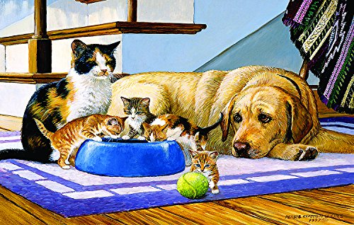 SunsOut What's a Dog to Do? 100 Piece Jigsaw Puzzle