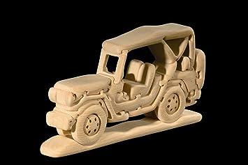 En Dolfi Y Madera Juegos esJuguetes 3d Puzzle NaturalAmazon Jeep oCxsrBQthd