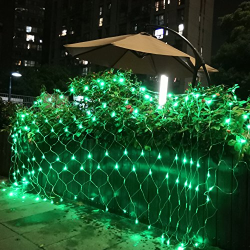 Green Led Christmas Net Lights