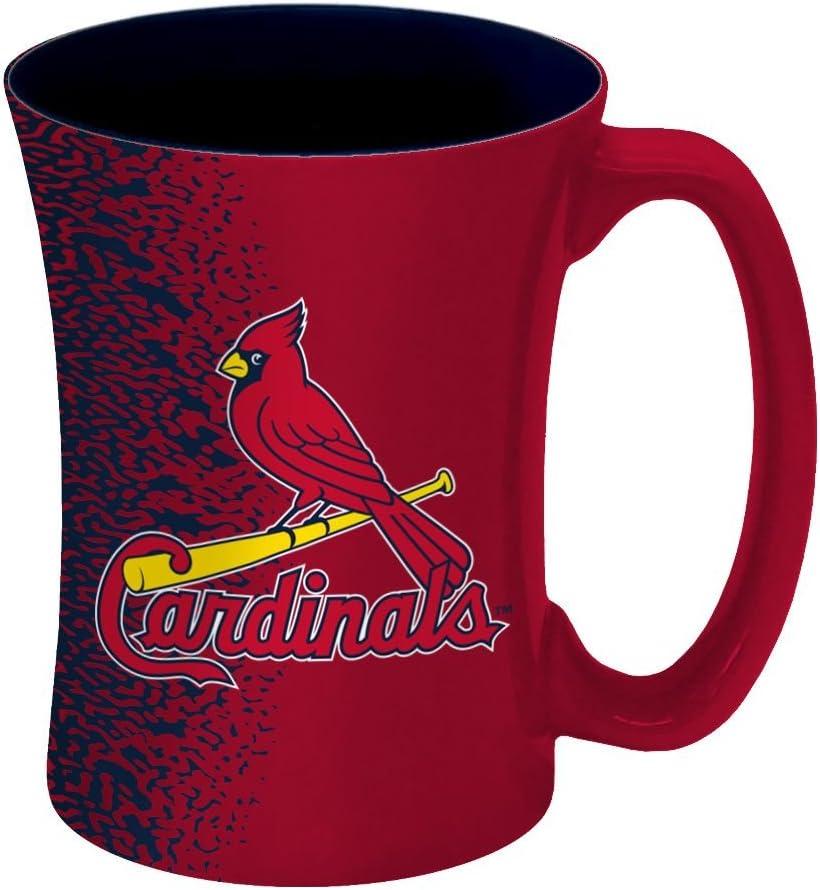 MLB St. Louis Cardinals Mocha Mug, 14-ounce