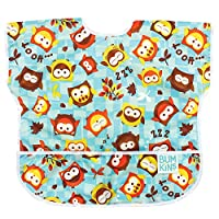 Bumkins Waterproof Junior Bib, Owls (1-3 Years)