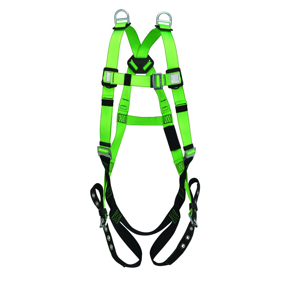 Peakworks V8002230 FBH-10020E Contractor Harness, Universal, Green