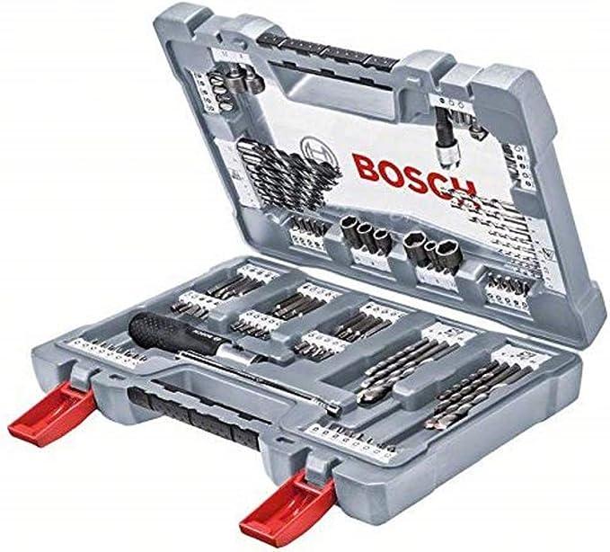 Bosch 2609255481 Set de 4 forets polyvalents Diam/ètres 5,5//6//7//8