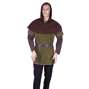 Traje medieval Robin Hood Cbo: Amazon.es: Juguetes y juegos