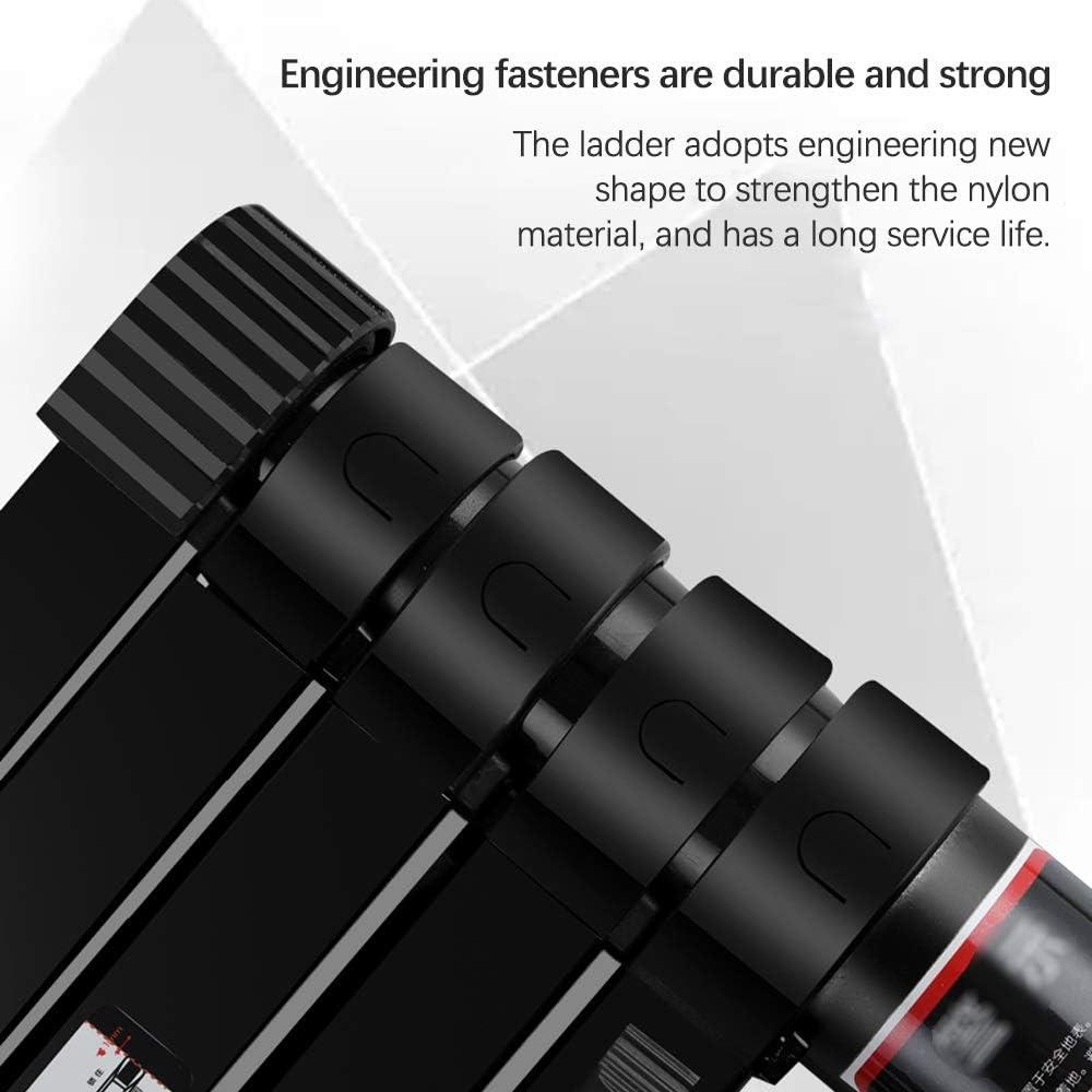 Xiao Jian Klappleiter Aluminiumlegierung Multifunktions 5 Stufenleiter Teleskopauszugsleiter for Indoor Home Maintenance Industriegeb/äude Klappstufen