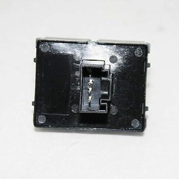 Boloromo FA0141 Interrupteur /à bascule pour vitre avant gauche droite 4 broches pour Fiorino Bipper Nemo Ducato Boxer Jumper OEM 735442324 735379269 Noir
