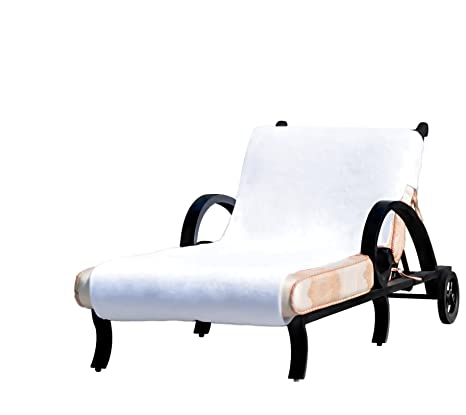 Surprising Linum Home Textiles Cl00 Snp Standard Size Chaise Lounge Cover White Ocoug Best Dining Table And Chair Ideas Images Ocougorg