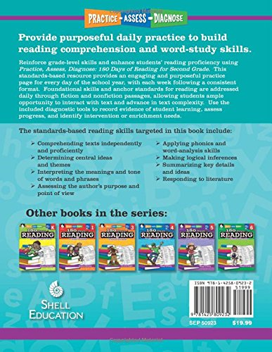 180 Days Of Reading For Second Grade Ages 6 8 Easy To Use