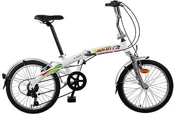 Bicicleta Plegable Orbita Articulada 7v Aluminio