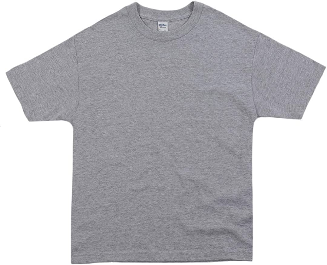 SpectraUSA Youth Unisex Crewneck Ring-Spun Cotton T-Shirt 2200