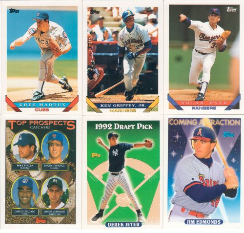 (1993 Topps MLB Baseball Series Complete Mint Hand Collated 825 Card Set Which Includes Derek Jeter's Rookie Card #98 Complete M (Mint) )