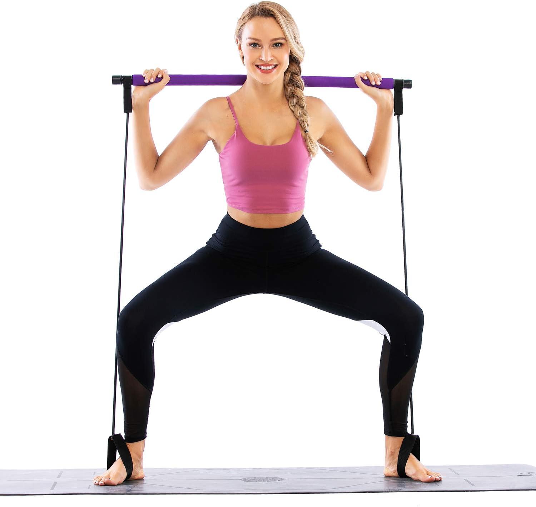 GLKEBY Kit de Barre de Pilates