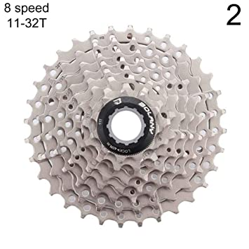 XQxiqi689sy Bicicleta MTB Bicicleta de montaña 8/9 Velocidad casetes piñón Libre Flywheel Partes de Bicicleta: Amazon.es: Deportes y aire libre