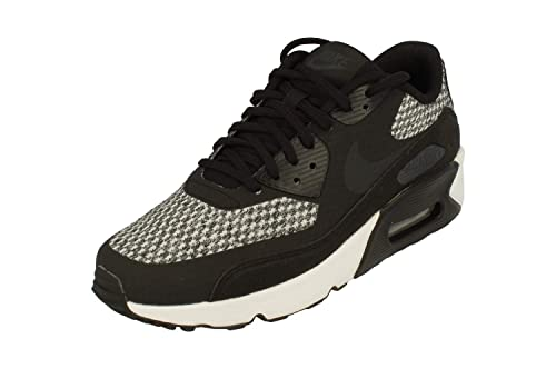 Nike Air Max 90 Ultra 2.0 Se GS Junior Running Trainers 917988 Sneakers Shoes (UK 5.5 us 6Y EU 38.5, Black Anthracite Cool Grey 005)