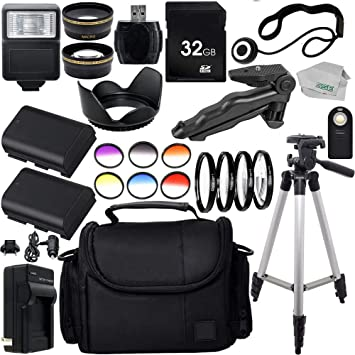 4PC Macro Filter Kit SSE Ultimate 58mm Lens 28PC Accessory Kit for Canon EOS 70D 7D 7D Mark II 6D 60D 5D EOS 5D Mark III DSLR Cameras Includes Wide Angle /& Telephoto Lenses 3PC Filter Kit More