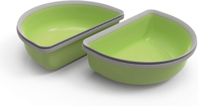 SureFeed - Cuenco (2 Unidades), Color Verde