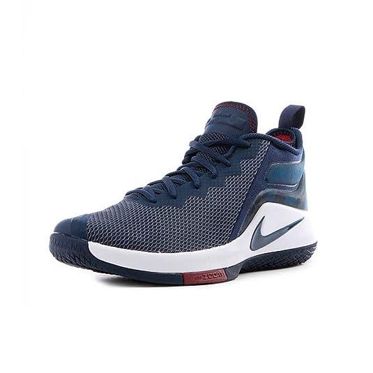 Nike Lebron Witness II - 942518406 - Farbe: Dunkelblau-Weiß - Größe: 44.5:  Amazon.de: Schuhe & Handtaschen