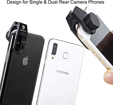 MAX Camera Lens Attachment for iPhone X 8 7 6 Plus Samsung XR 5 RUTELO Telephoto Lens for Smartphone with Tripod /& Bluetooth Shutter Remote- Ultra Powerful 25X Coated Optical Glass XS 5s