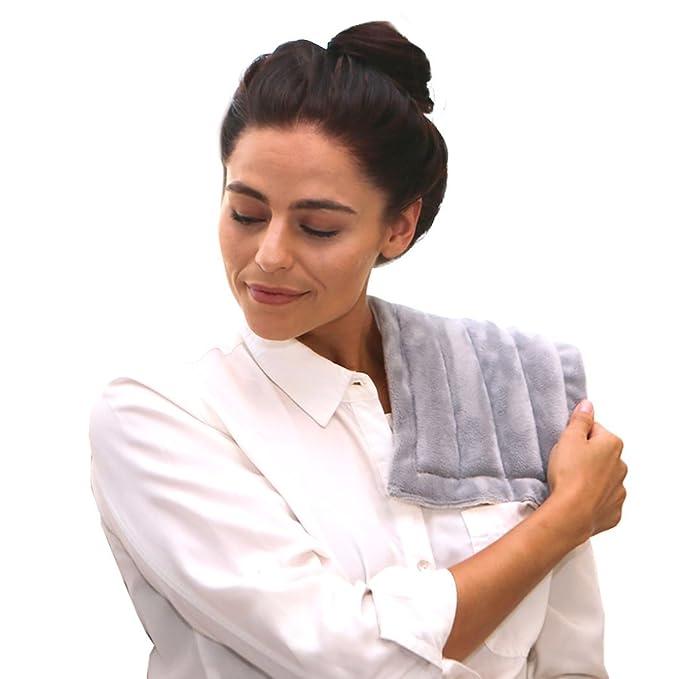 Heating Pad Solutions Compresas calientes o almohadillas para el músculo del compinche microondas, el estrés, el alivio: Amazon.es: Salud y cuidado personal
