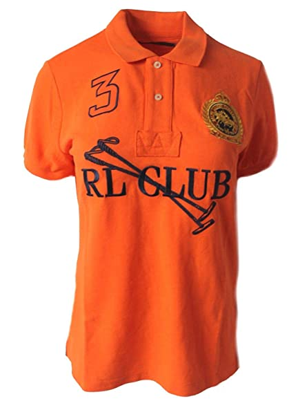 Polo Ralph Lauren - Polo - para Mujer Naranja Naranja Large ...