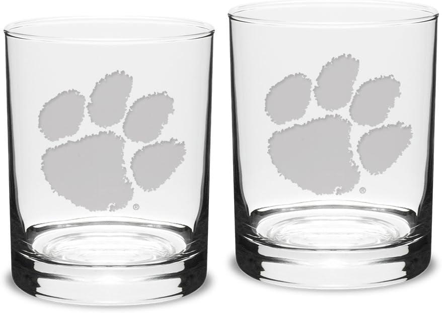 University Glass NCAA Unisex Collegiate Crystal Revere Bowl
