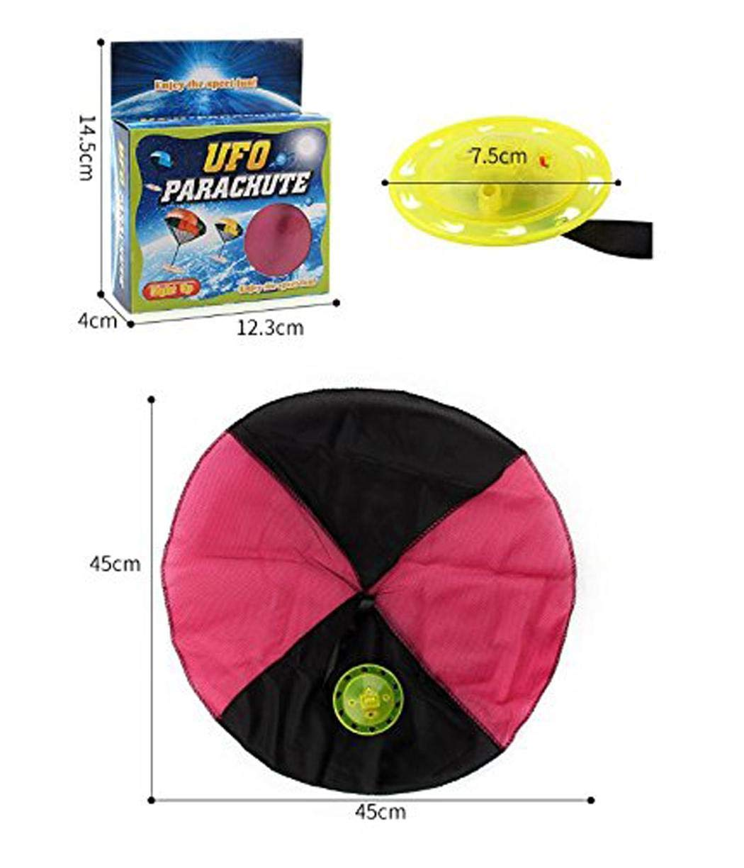 Bifast Hand Throwing Flash Light Frisbee Parachute Toy Child Game Gift Toy by Bifast (Image #4)