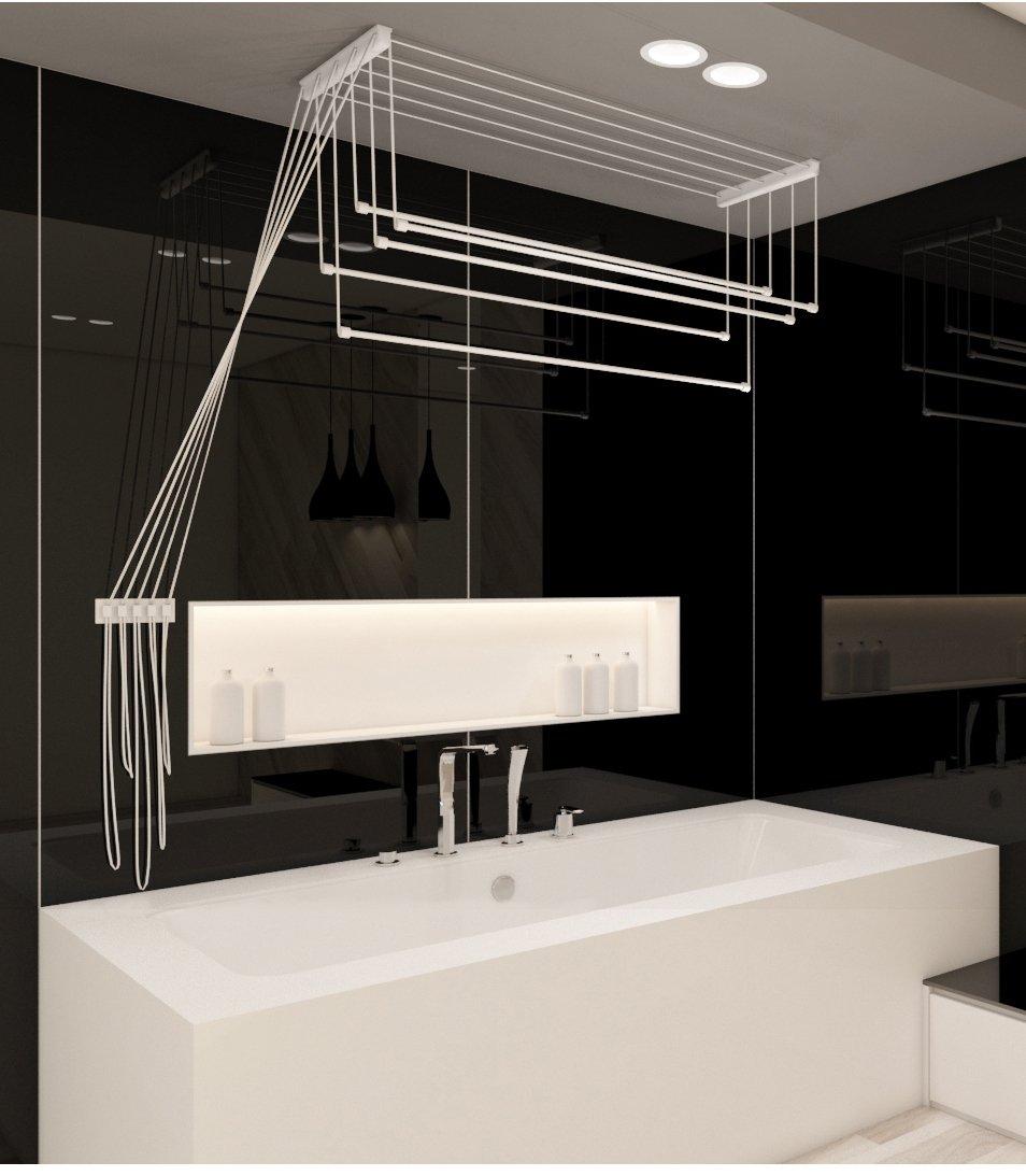 no brand Sèche-linge 1, 50 m plafond sécheur séchoir