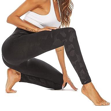 HALILUYA Pantalones Yoga Mujeres, Leggings de Estampados ...