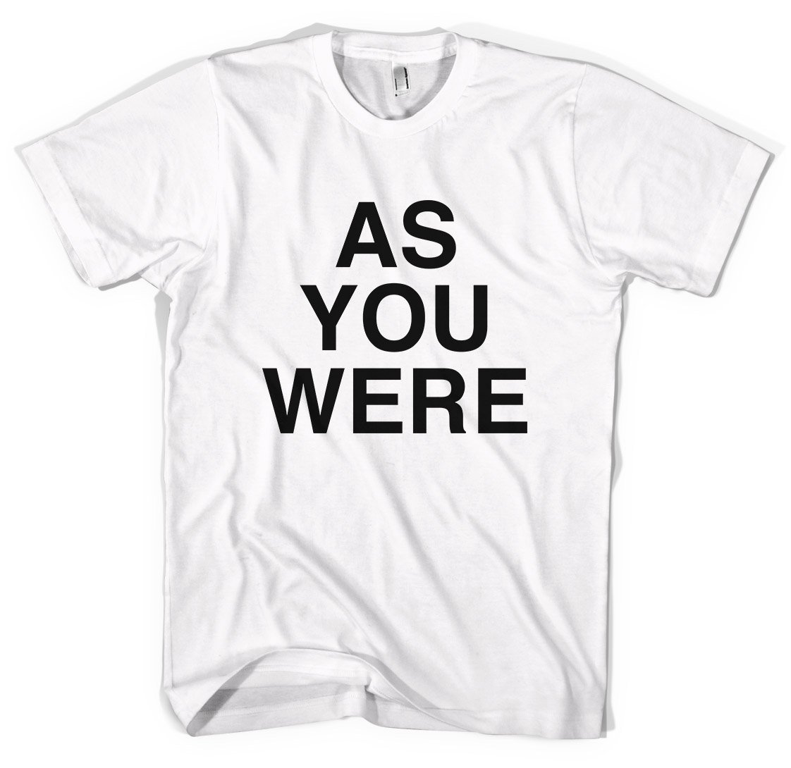 As You Were Liam Gallagher Oasis Unisex T Shirt
