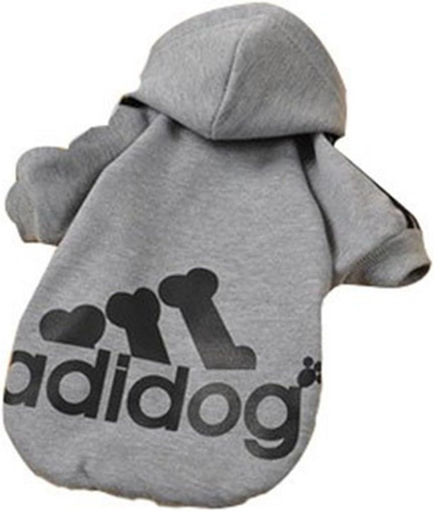 Zehui Dogs Baseball Jacket for Pet Dog Coat Sweater Hoodies