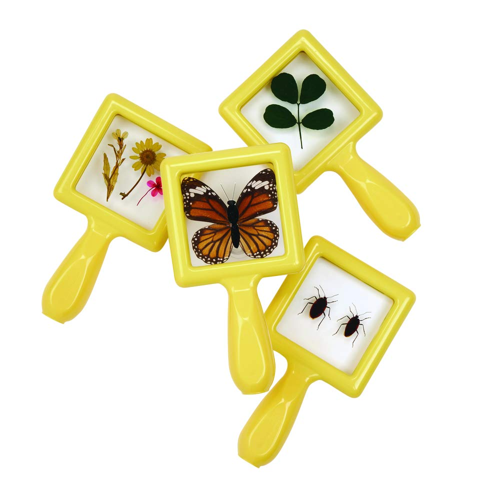 Environments Toddler, Preschool Early STEM, Specimen Viewers for Kids, Science Education Set of 4 (Item # SPECIVU)