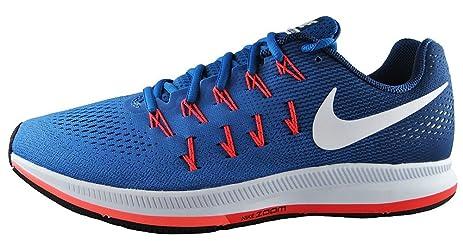 Nike Hombres Air Zoom Pegasus 33 Star Azul Blanco  Blanco Azul Coastal 32354d