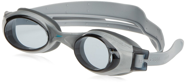 96483d126d7 Buy Speedo Rapide Junior Swimming Goggle (Titanium Steel) Online at Low  Prices in India - Amazon.in