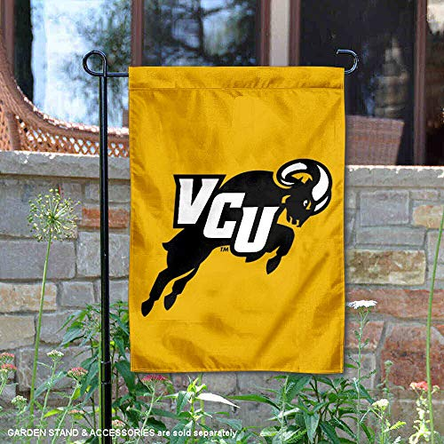 (College Flags and Banners Co. VCU Rams Jumping Ram Garden Flag)