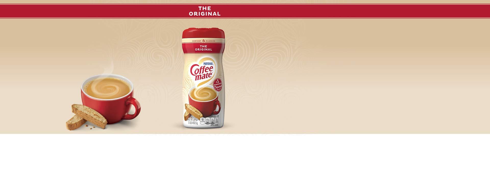 Nestle Coffee mate Coffee Creamer Original, Pack of 12 (16 Ounce) (11000443)