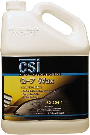 CSI Q-7 Wax 62-204-1 Gallon