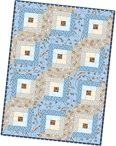 - Kris Lammers Cozy Cabin Log Cabin Pod Quilt Kit Maywood Studio