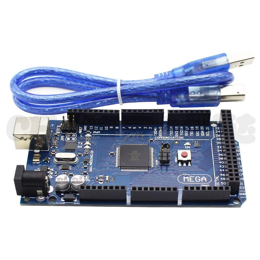 AiCheaX Mega 2560 R3 Tarjeta Mega2560 REV3 ATmega2560-16AU con ...